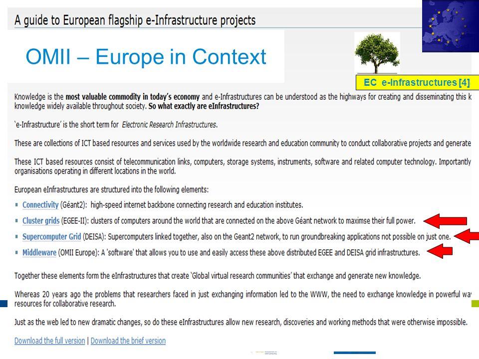 EC e-Infrastructures [4]